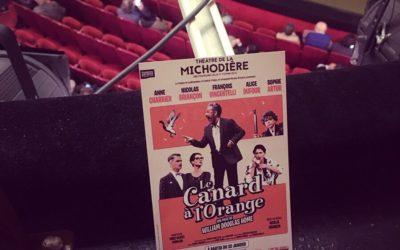 «Le Canard à l'Orange» au Théâtre de la Michodière