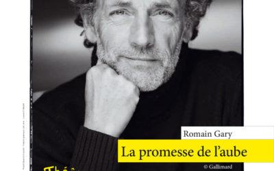 """""""La promesse de l'aube"""" lu par Stéphane Freiss au Théâtre de l'Atelier"""