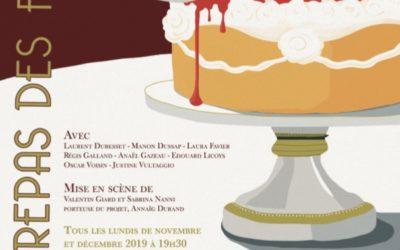 """""""Le repas des fauves"""" au Théâtre Clavel jusqu'au 30 décembre 2019"""