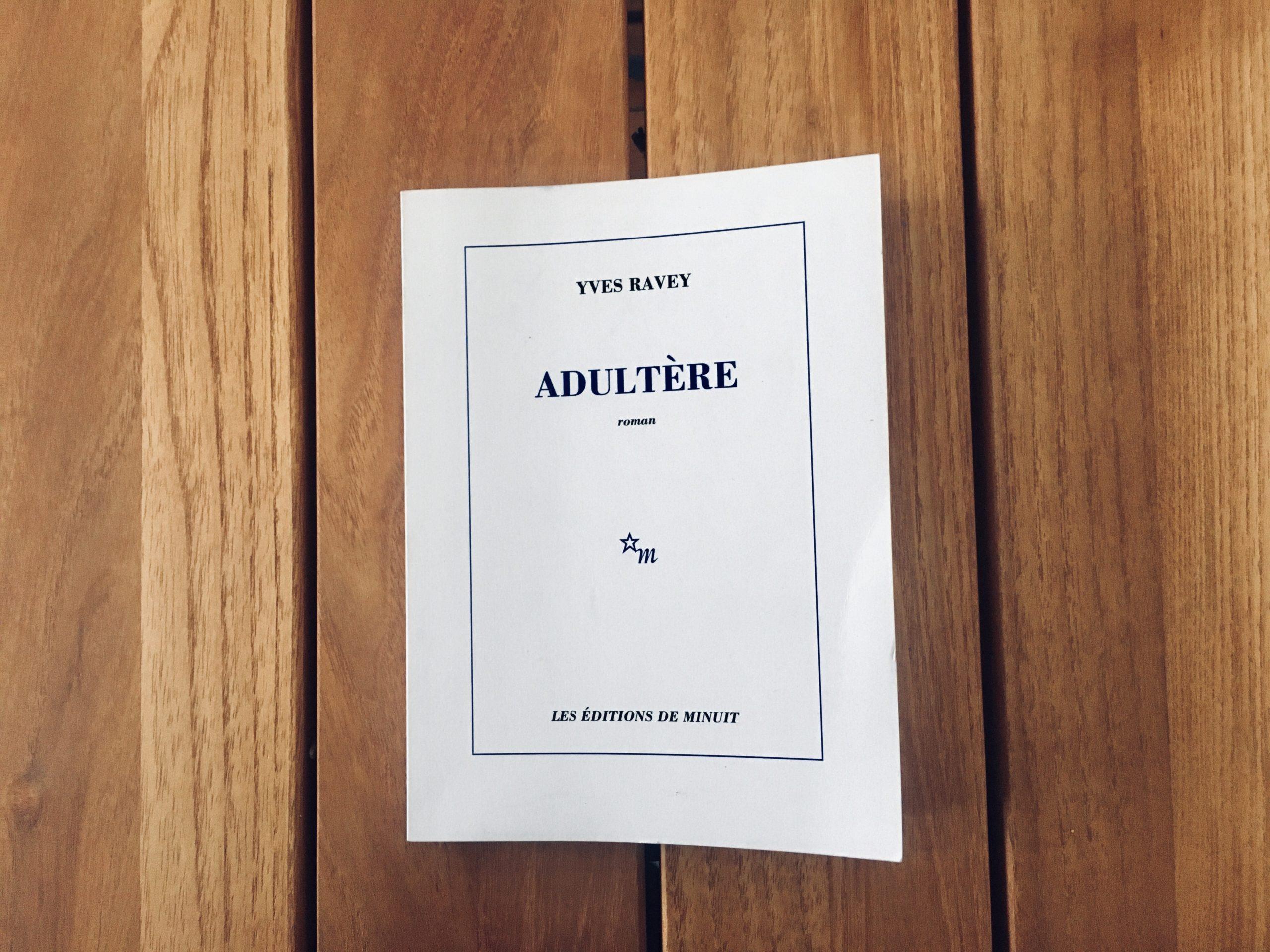 """Chronique """"LE LIREZ-VOUS"""" ? Adultère"""