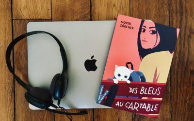 """""""Des bleus au cartable"""" de Muriel Zürcher pour l'Association Valentin Haüy"""