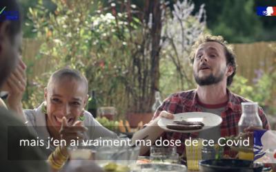 Campagne TV – Spot vaccination – Ministère de la Santé – Le débat – Août 2021